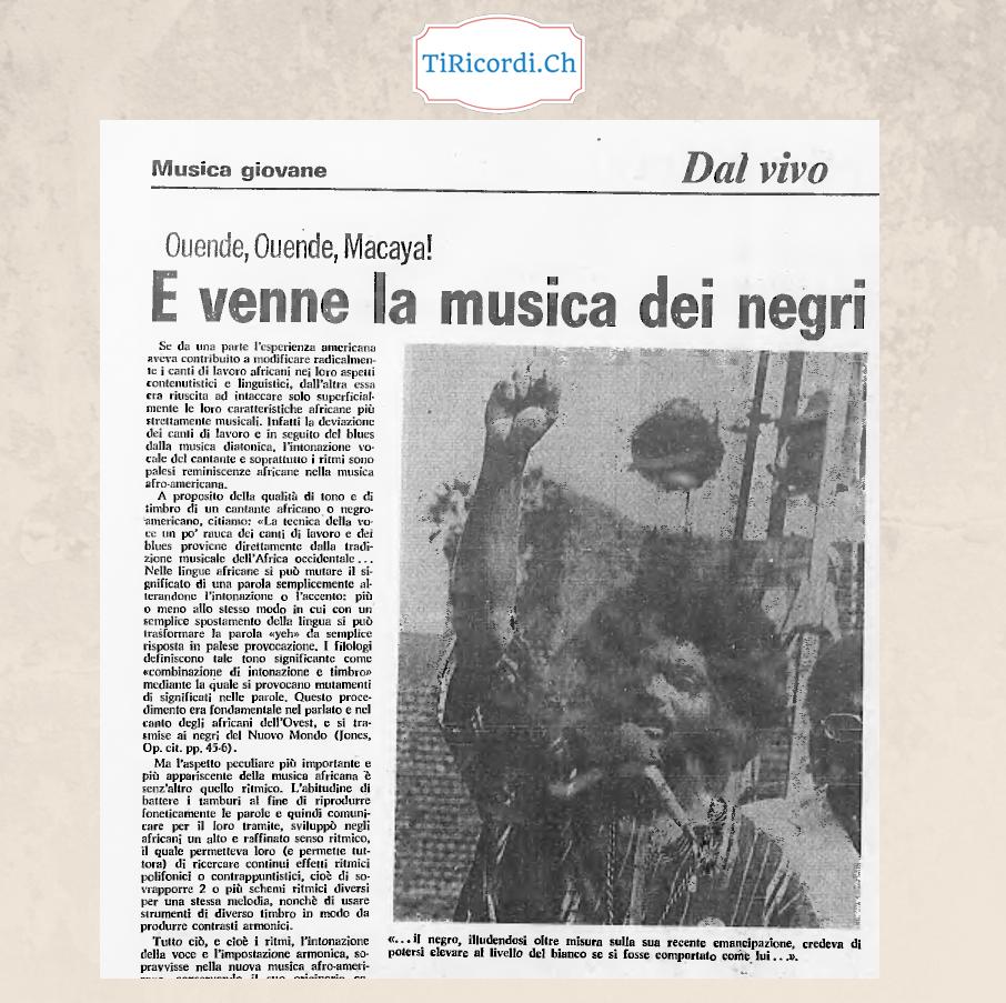 1973: Titoli d'altri tempi...
