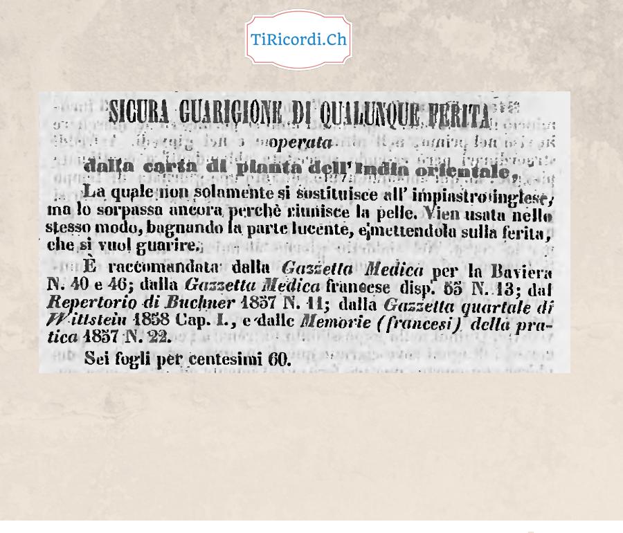 26 febbraio 1858 rimedio miracoloso