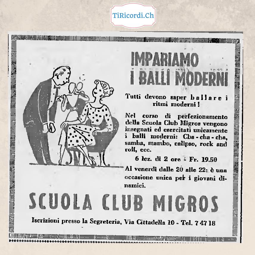 4 marzo 1958 Impariamo i balli moderni!