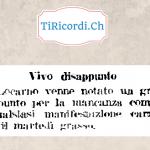 70 anni fa disappunto per la mancanza di un carnevale a Locarno.
