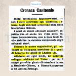 Quando la Confederazione decise di limitare la diffusione dei giornali esteri. 1 luglio dei 1893