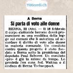 """80 anni fa arrestato """"delinquente o disgraziato""""... 22 gennaio 1938"""