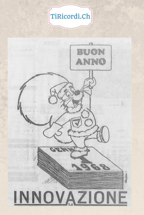 Buon Anno a tutti  ;)  Pubblicità di 50 anni fa...