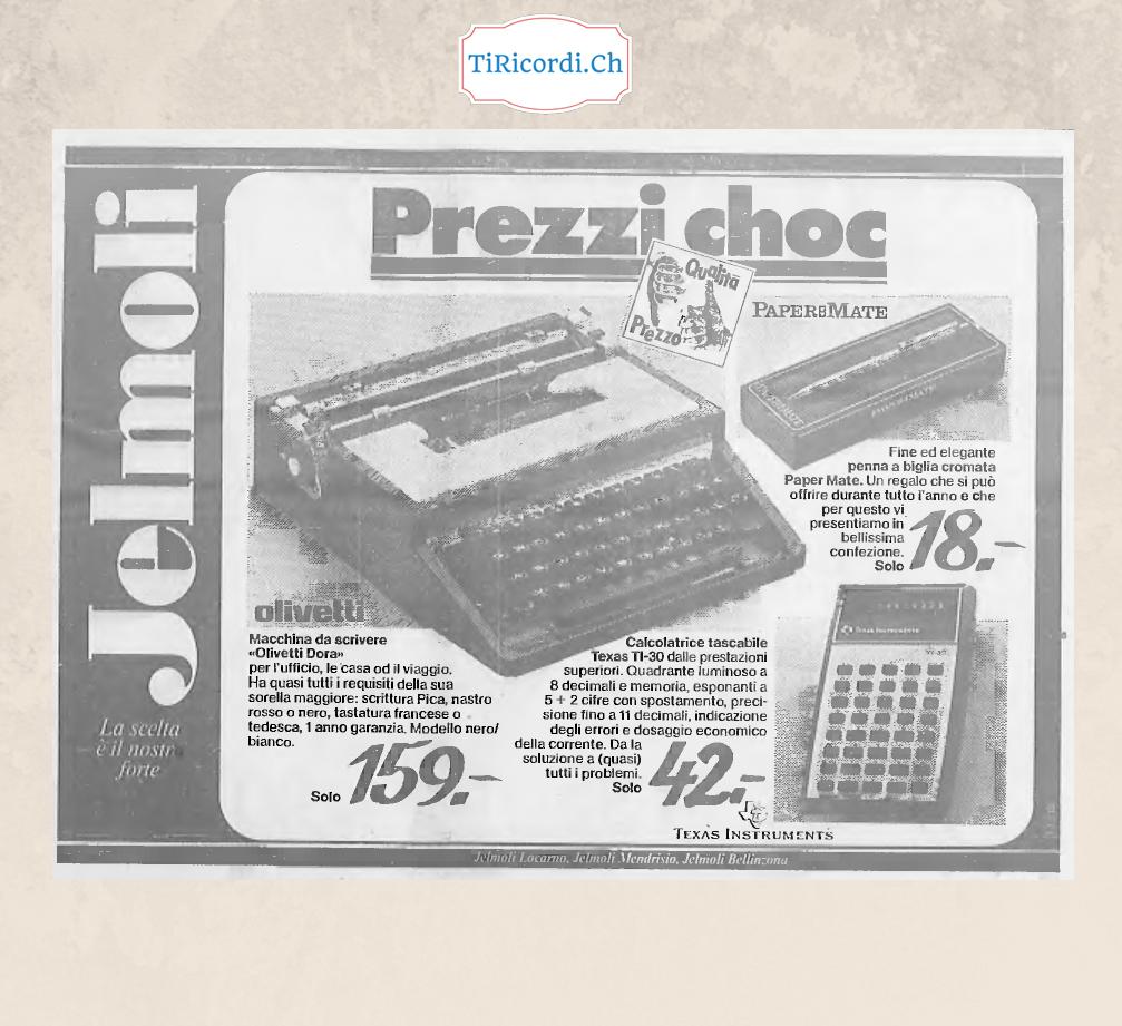 Computer 40 anni fa, marzo 1978...