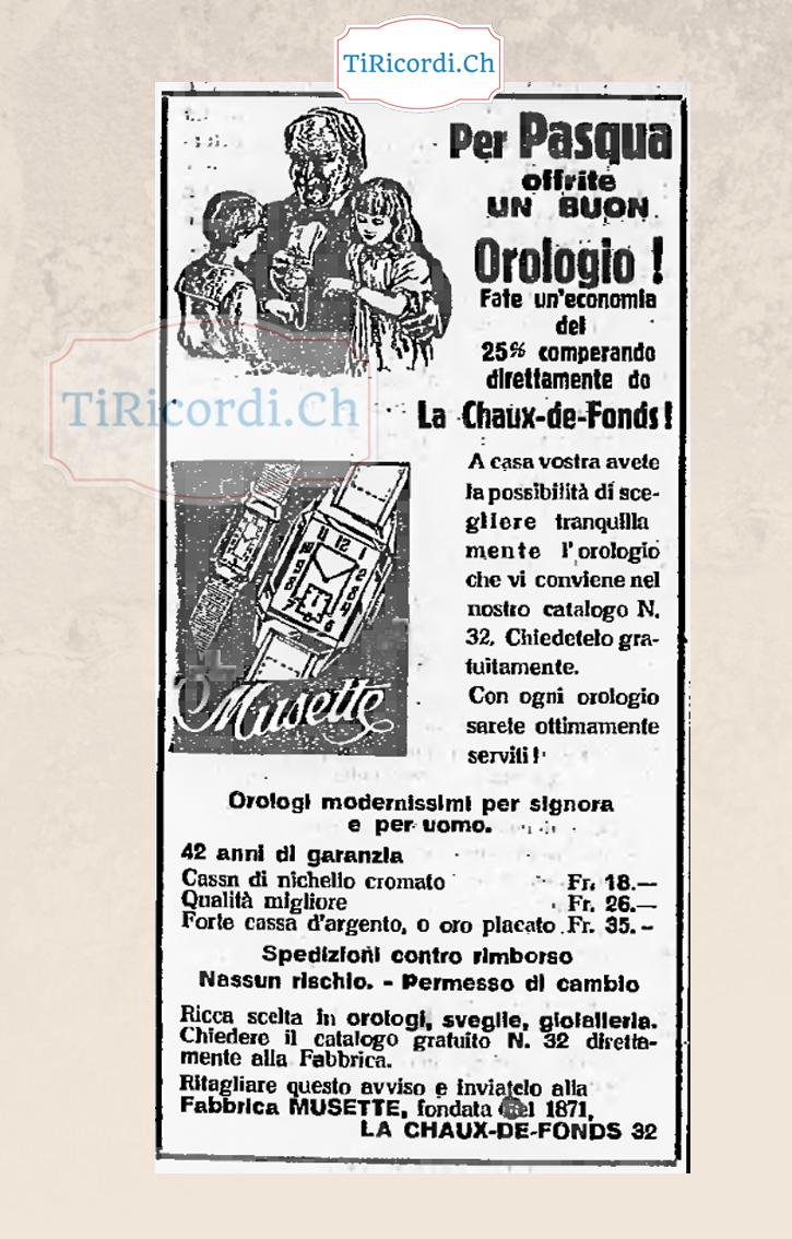 Idee regalo per la pasqua del 1938