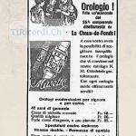 Pubblicità Vetreria Peduzzi SA di 80 anni fa, marzo 1938