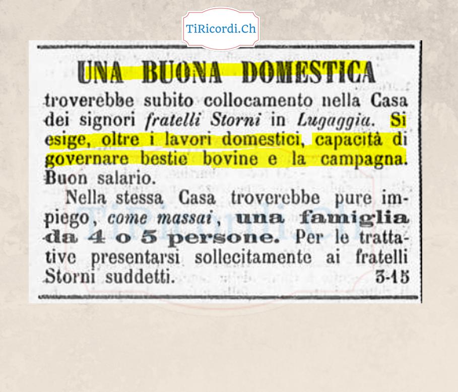 """Nozioni fondamentali per una """"Buona Domestica"""" nel maggio 1888."""
