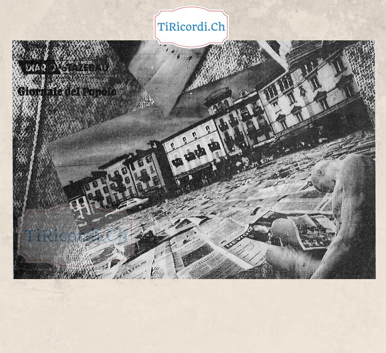 Prima di Apolide: Nel maggio di 24 anni fa la Piazza Grande coperta da migliaia di pagine di giornale.  La copertina di ...
