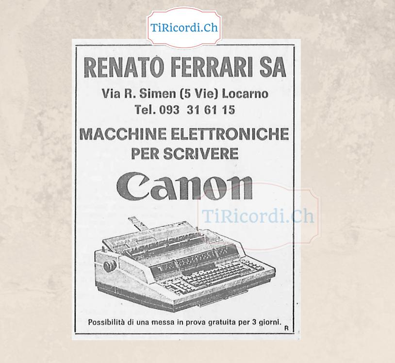 Pubblicità di 35 anni fa, ottobre 1983.  Nota per i millennials: Sì era  un computer senza schermo ma con la stampante i...
