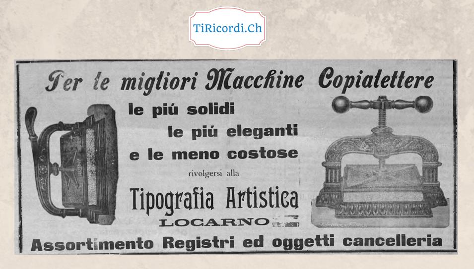 Pubblicità febbraio 1901