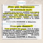 Annuncio pubblicato il 14 ottobre 1858. #160anni