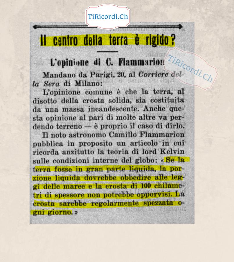 21 dicembre 1908 ci si poneva queste domande #110anni