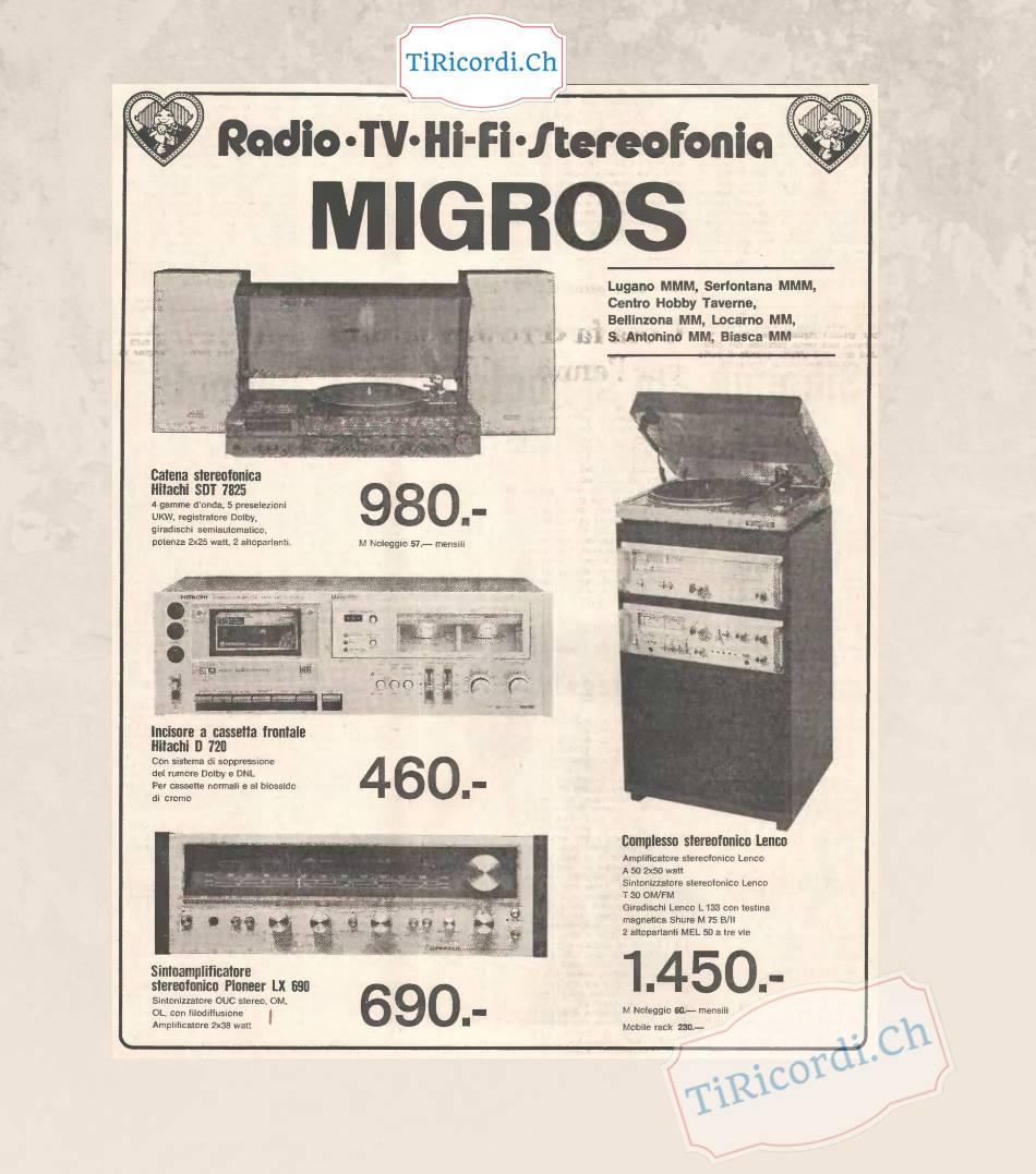 Impianti Hi-fi di #40anni fa, gennaio 1979