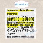 """#100anni fa la """"Grippe""""...  Articolo apparso sulla stampa ticinese il 22 gennaio 1919"""