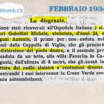 """8 Febbraio 1979: """"Bulli rissosi"""" nella cronaca ticinese di #40anni fa"""