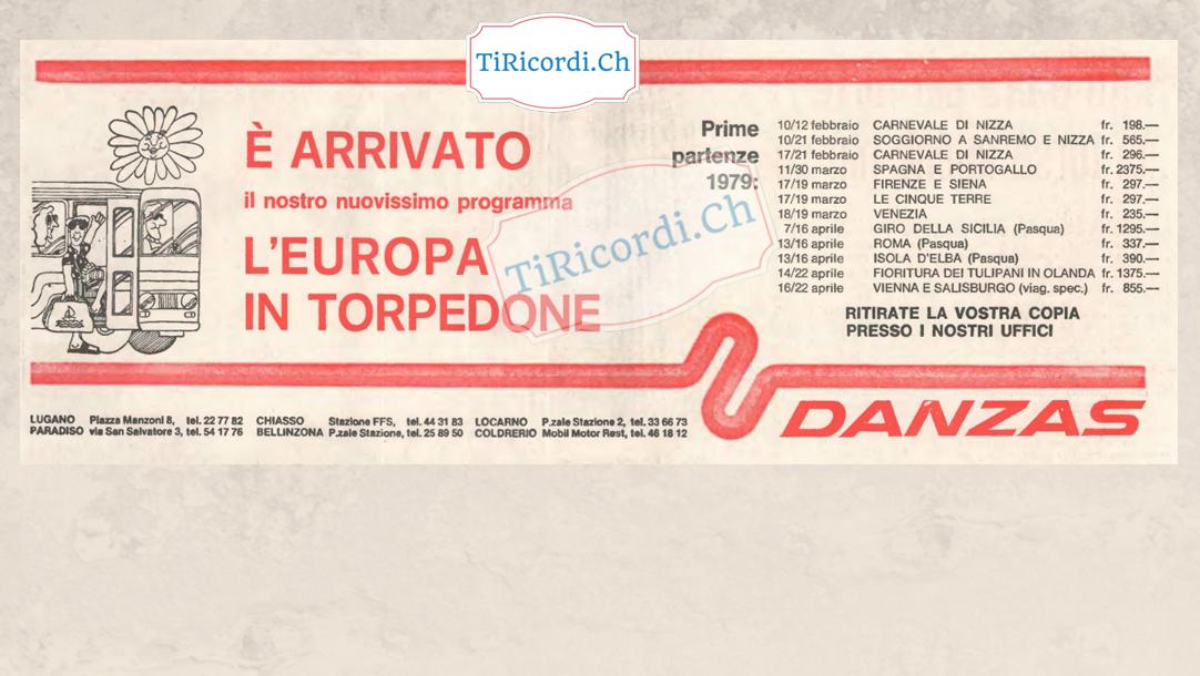 Viaggi in torpedone nel febbraio 1979 #40anni