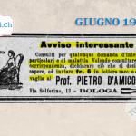 28 giugno 1879 Annuncio pubblicato #140anni fa