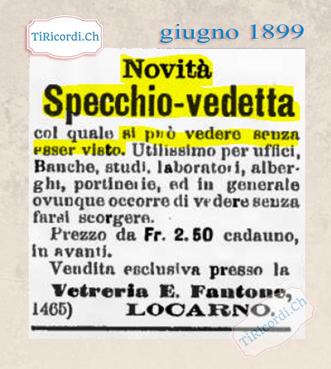 giugno 1899: Tecnologia innovativa #120anni
