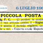 5 luglio 1939: Oggetti smarriti!