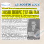 14 agosto 1909: Delitto d'amore a Cerentino #110anni