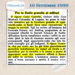 17 Settembre 1889: Aggiornamento riguardo agli emigrati ticinesi presenti su una nave francese arrivata a New York #130a...