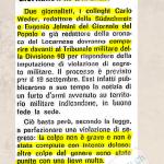 Mobilitazione Generale del 1939: Anche i Giornali subivano ritardi nella consegna. #80anni