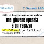 """6 Ottobre 1969: per soli 17 CHF al mese noleggia il tuo """"surcongelatore"""" #50anni"""