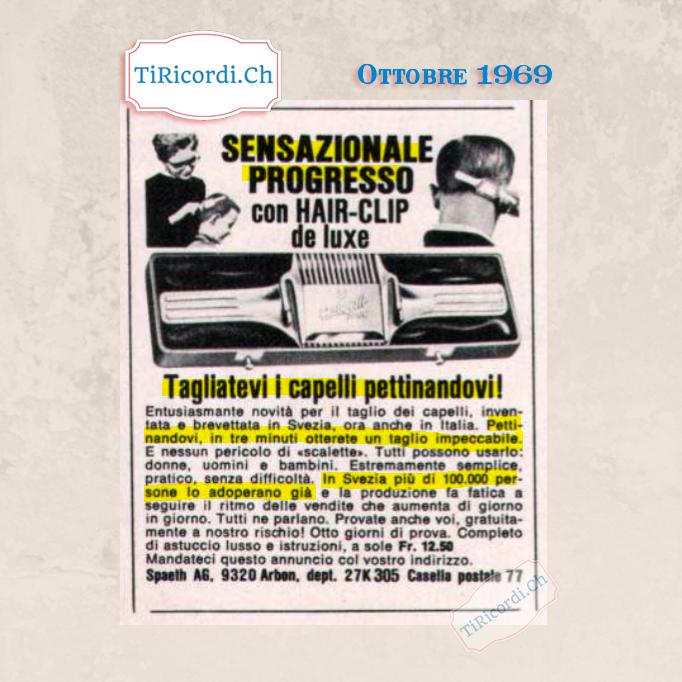Ottobre 1969: sensazionale scoperta #50anni