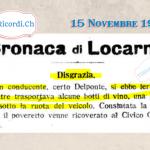 14 Novembre 1959: #60anni fa veniva inaugurato il negozio Jelmoli ( ora GLOBUS, LOCARNO )