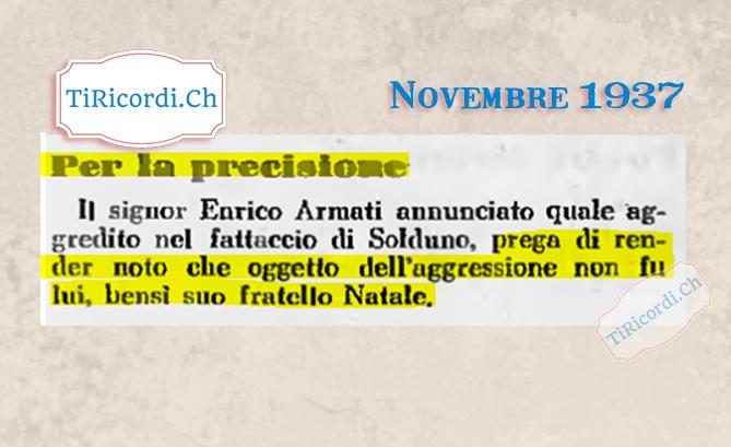 Novembre 1937: Sia ben chiaro! #82annifa