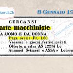 7 Gennaio 1890: L'influenza colpiva il Cantone e in particolare l'ufficio postale #130anni