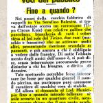 Dicembre 1966 la popolazione partecipava all'inaugurazione del nuovo centro commerciale luganese inviando fiori e telegr...