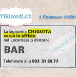 1 Febbraio 1990: non per tutti #30anni