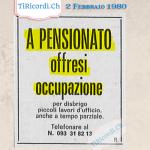 2 Febbraio 1980: Ossimoro #40anni