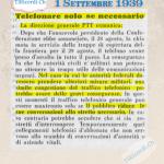 1 Settembre 1939: Il giorno precedente alla Mobilitazione Generale dell'esercito svizzero [REPOST]