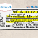 28 Marzo 1900: Avviso alle neomamme #120anni