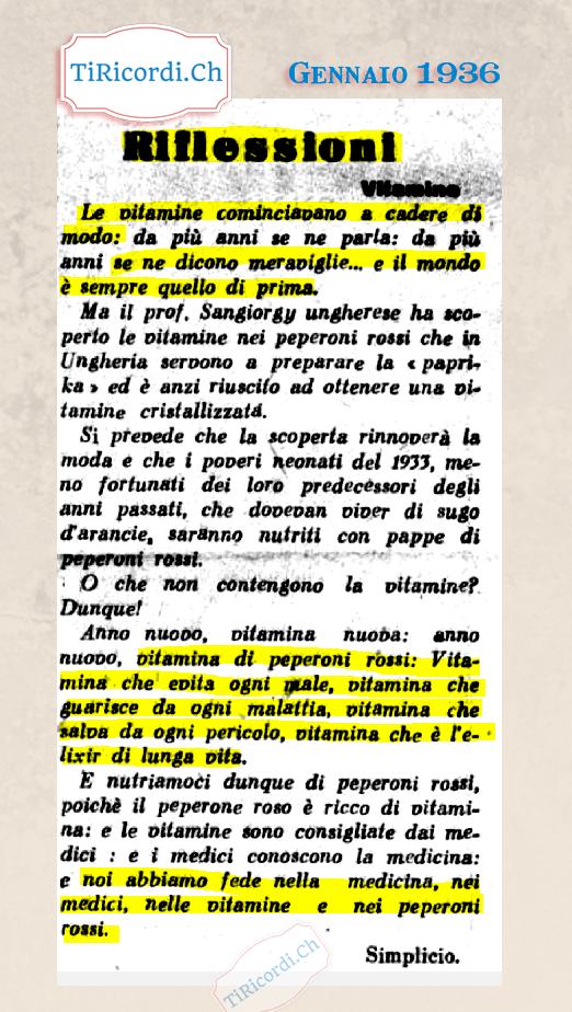 """Le vitamine come """"eliXir"""" di lunga vita #84anni"""