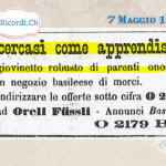 8 Maggio 1970:  vaccinazione obbligatoria a Minusio #50anni