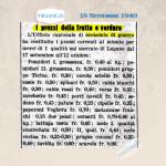 15 Settembre 1940: I prezzi da applicare durante l`economia di guerra #80anni