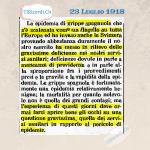 """102 anni fa: """"L'epidemia di  grippe spagnola che si è scatenata come un flagello su tutta l`Europa ed ha invaso anche la..."""
