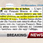 10 Dicembre 1910: Breaking news di #110anni fa