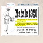 24 Dicembre 1920: Idee regalo dell'ultimo minuto di 100 anni fa.