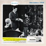 Buon Natale da TiRicordi.Ch a tutti i lettori e followers!  Dicembre 1960: Il regalo per i papà #60anni fa.