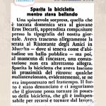 """30 Gennaio 1951 """"Breaking News"""" Bicicletta rubata a Locarno #70anni"""
